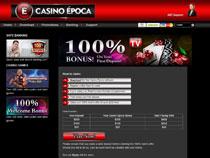 Screenshot Casino Epoca