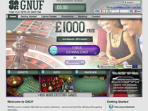 Screenshot GNUF Casino