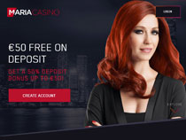Screenshot Maria Casino