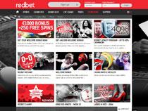 Screenshot RedBet Casino