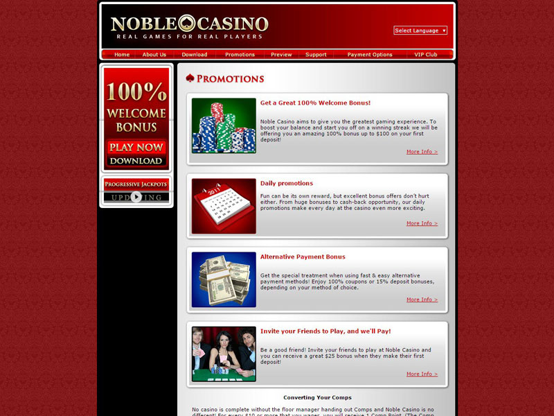 Noble Casino Free Download