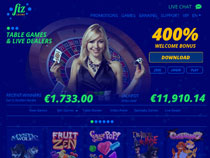 Screenshot Casino Fiz