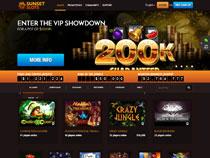 Screenshot Sunset Slots Casino