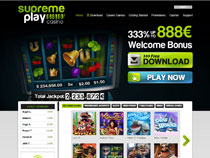 Screenshot Supreme Play Casino