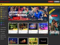 Screenshot Bovada Casino