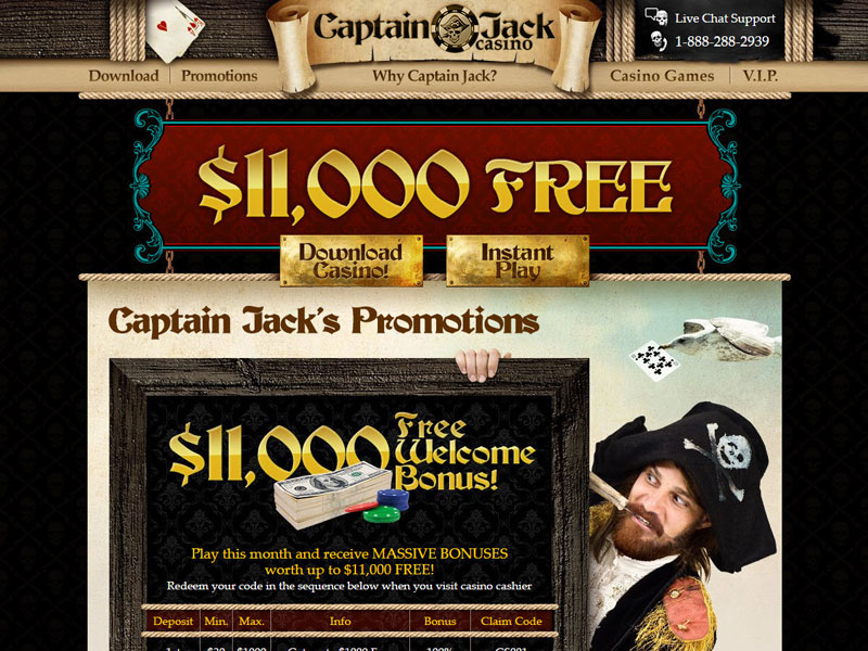 Captain JackS Casino