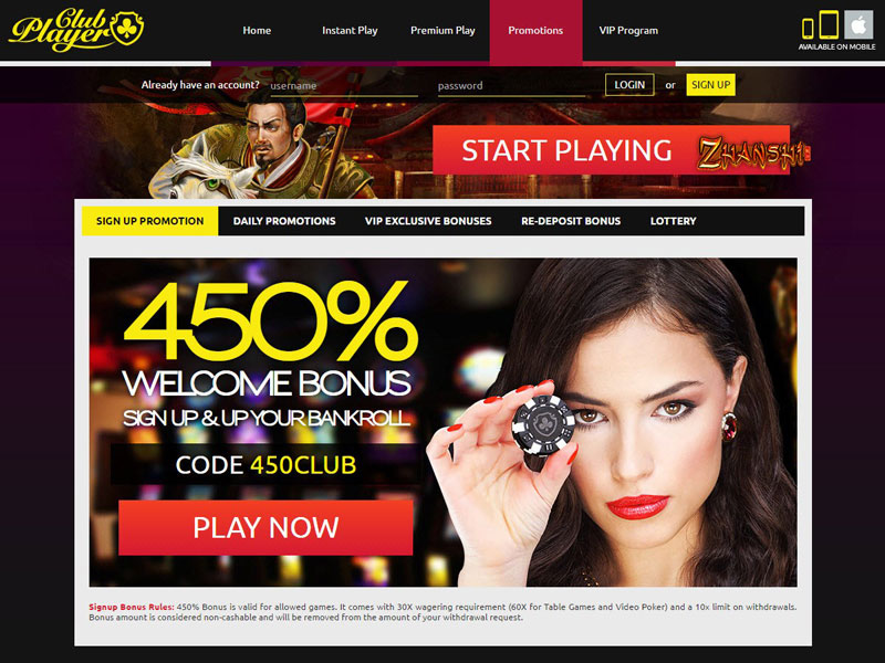 Club Player Online Casino