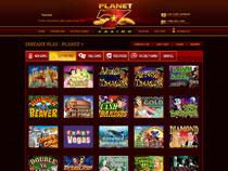 Screenshot Planet 7 Casino