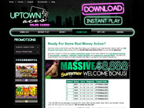 Screenshot Uptown Aces Casino
