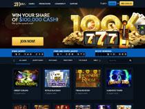 Screenshot 21Dukes Casino
