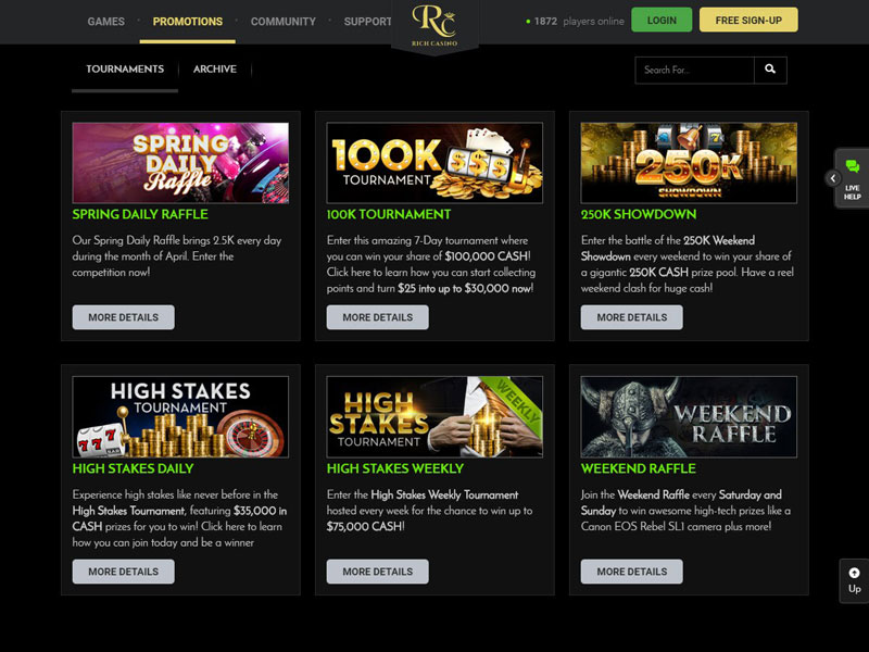 Rich Casino Reviews