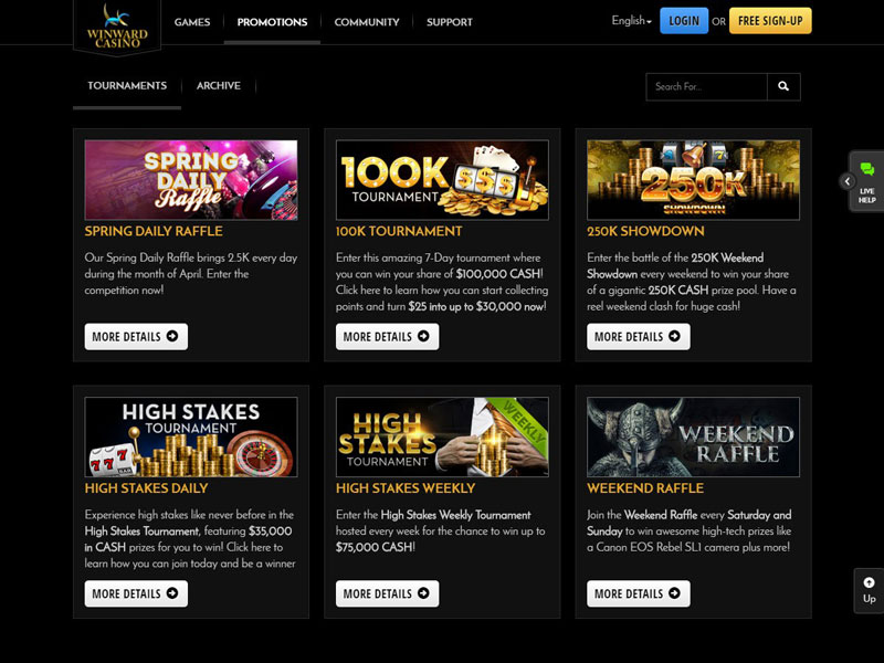 Winward Casino Reviews