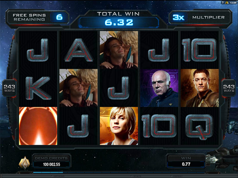 Slot Battlestar Galactica