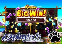 Playtech has launched The Flintstones videoslot at bgo Casino