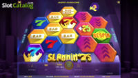 Win a share of £2,500 playing the Slammin' 7s slot machine