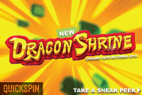 A new slot machine Dragon Shrine will be available this month