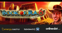 A superb online slot Book of Ra Deluxe 6 is just released by EnergyCasino