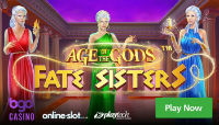 Bgo casino introduces a new online machine Age of the Gods Fate Sisters