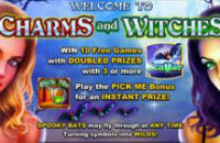 Charms and Witches is a new NextGen Gaming online slot offered by Video Slots Casino