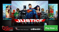 Justice League is a new gaming machine released by NextGen Gaming