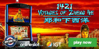 1421 Voyages of Zheng He is the newest online slot powered by IGT