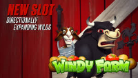 A big win came from a new slot machine Windy Farm at Bovada Casino