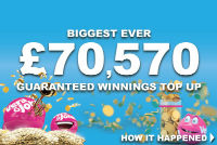 A player from the UK won over £70.500 on a slot machine Monopoly Big Event