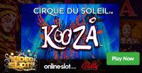 Bally Technologies introduces a new gaming machine Cirque Du Soleil Kooza