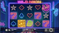 Mr Green Casino releases a new online slot Wild Neon powered by Push Gaming
