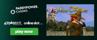 Paddy Power Casino introduces a new gaming machine Miss Fortune