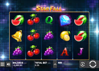 Push Gaming introduces a new gaming machine Star Fall at Unibet Casino