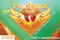 Quickspin will release a new gaming machine Phoenix Sun in December