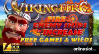 Viking Fire is a new gaming machine that will be soon released by Lightning Box Games