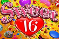 Sweet 16 is the latest slot machine released by Realtime Gaming