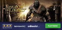 Bell Fruit Casino has released Novomatic's slot Kingdom of Legend