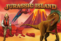Win 100 free spins on the slot machine Jurassic Island