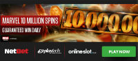 Win free spins every day with NetBet Vegas' Marvel promotion