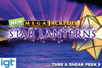 IGT releases a new gaming machine MegaJackpots Star Lanterns