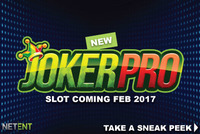 Joker Pro is the latest online slot introduced by NetEnt