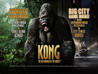 King Kong is a branded slot machine introduced by Playtech