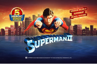 Superman II is the latest slot machine offered by Paddy Power Casino