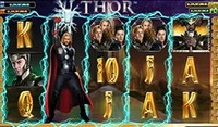Playtech introduces a new online slot Thor The Mighty Avenger